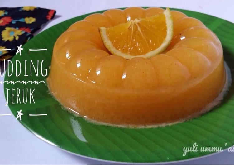 Pudding Jeruk