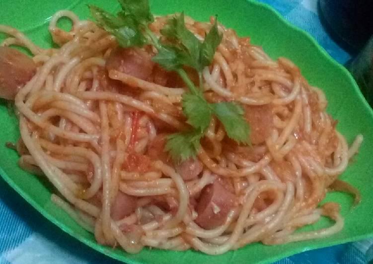 Spaghetti tanpa oregano