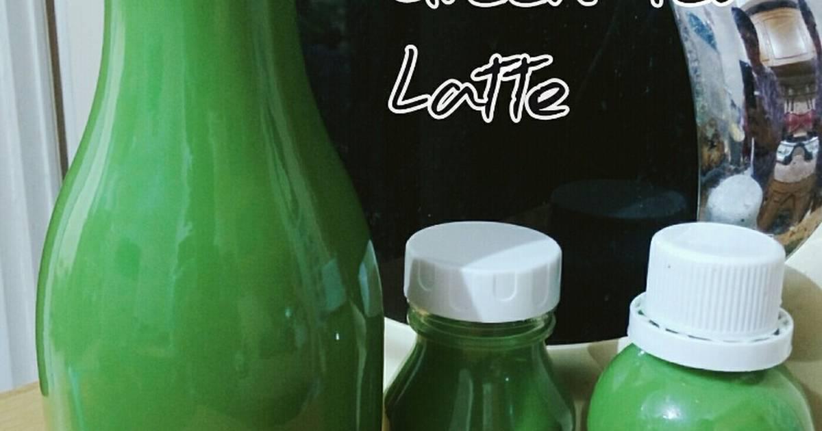 Resep Green Tea Latte