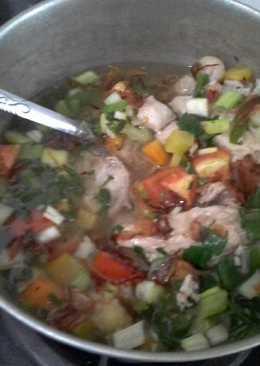 Sup ayam jahe