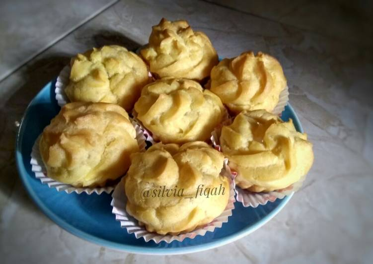 Kue Soes a.k.a choux pastry #3