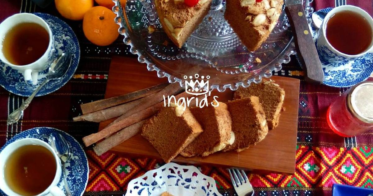 Resep Oenbitjkoek Chiffon Cake