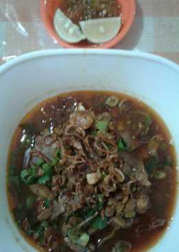 Soto taoto daging sapi