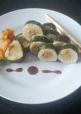 Nasi Cakalang Pampis ala Sushi