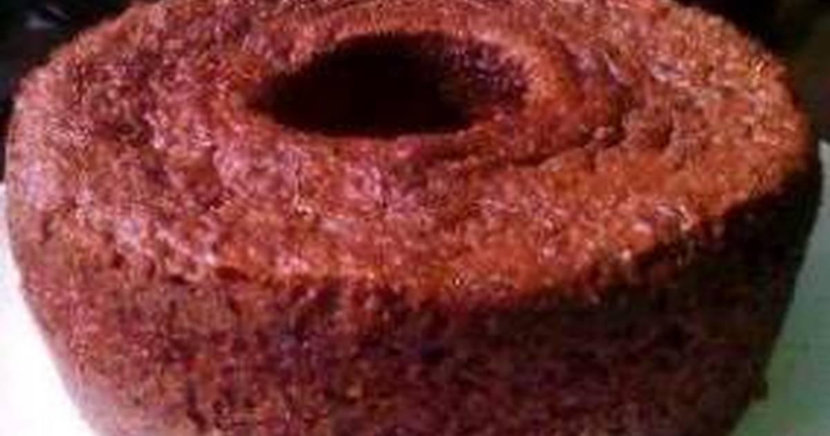 Resep Bolu karamel sederhana