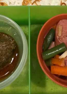 Sausage with Vegetable Bekal Anak