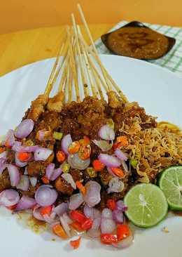 Sate Ayam Madura (Bumbu Kacang)