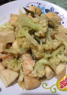 30.Tumis Kembang Kol bakso udang fish cake#BikinRamadhanBerkesan