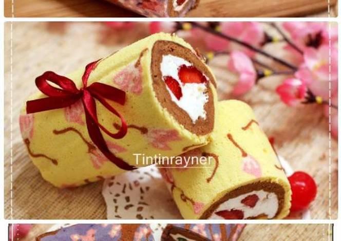 Resep Japanese Roll Cake Kukus