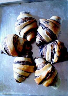 Chocolate wassant bread (lembuttttt)
