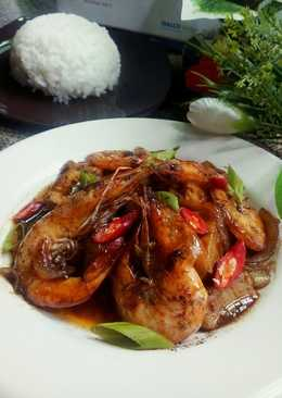 Udang Tofu Saus Lada Hitam 🍤🍤🍤 #SeafoodFestival