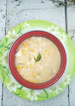 Creamy corn soup (mudah dan enak)