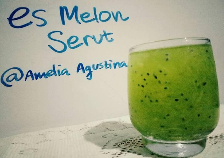 3. Es Melon Serut #BikinRamadanBerkesan