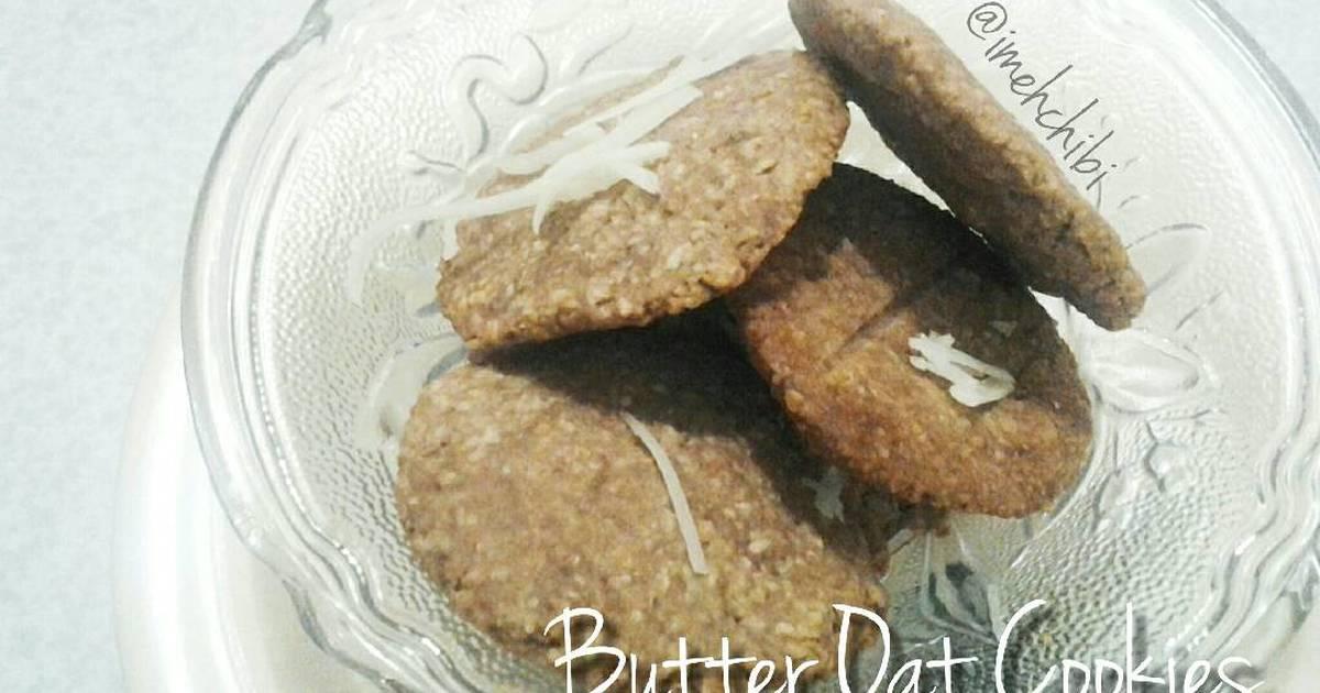 Resep Butter Oat Cookies