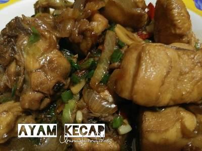 Ayam Kecap Simple No MSG