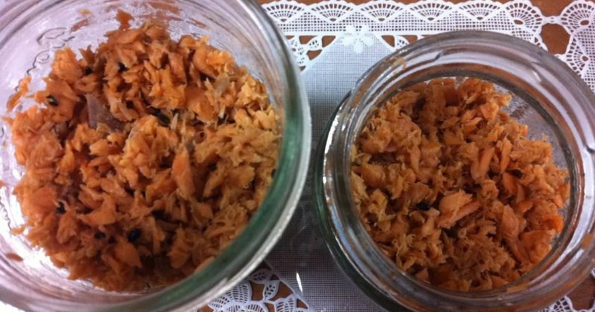 resep abon salmon oleh melia   cookpad