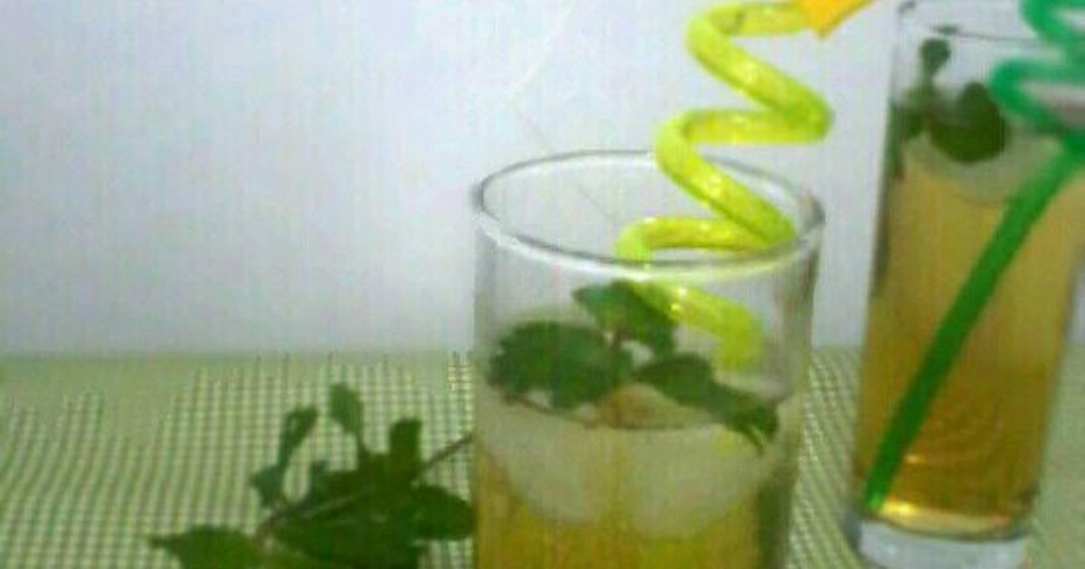 Resep Ice Mint Tea