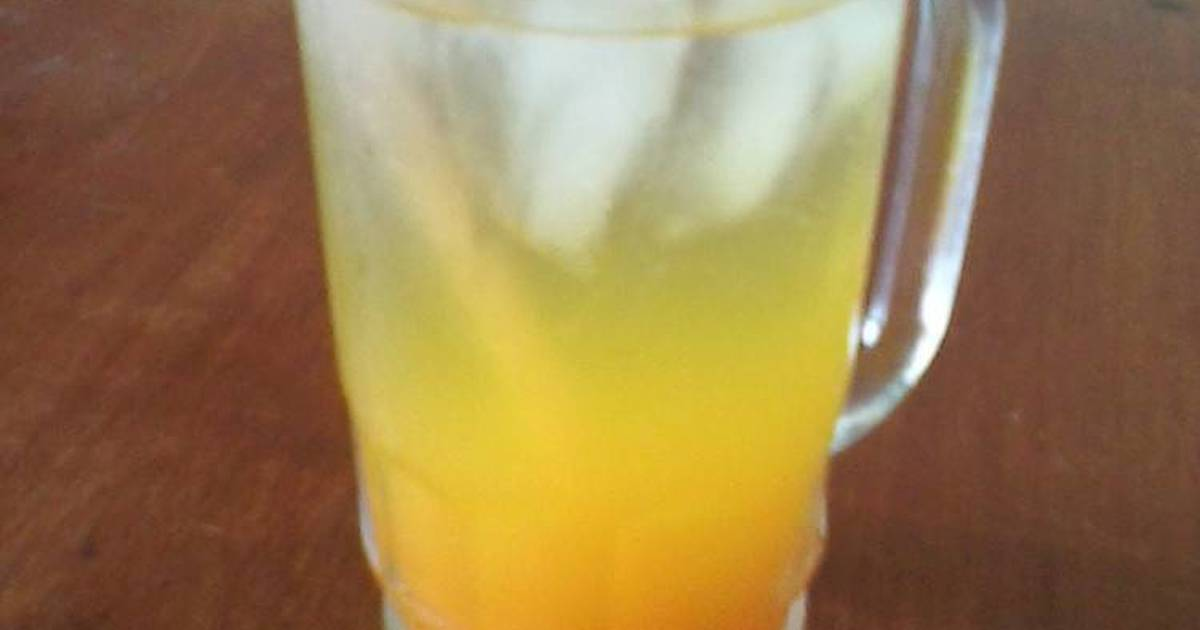 Resep orange jus ala kantor