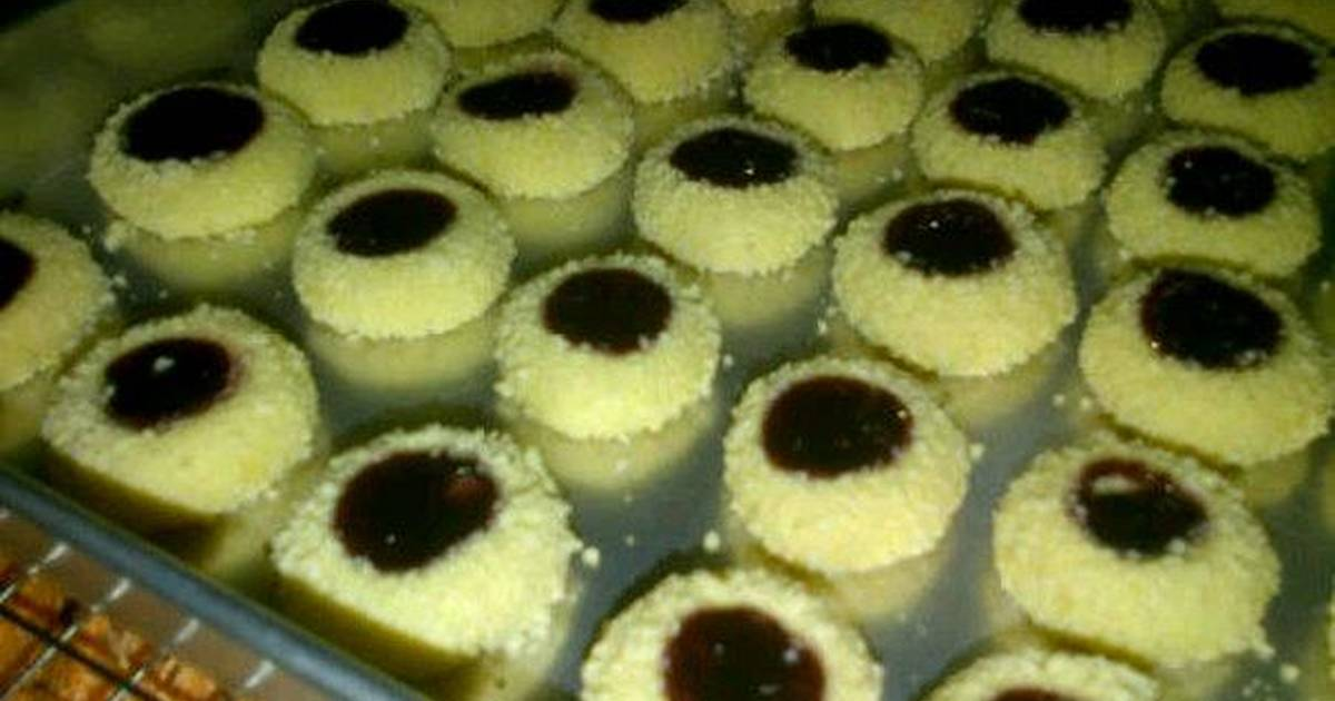 Resep Blueberry Jam Drop Cookies