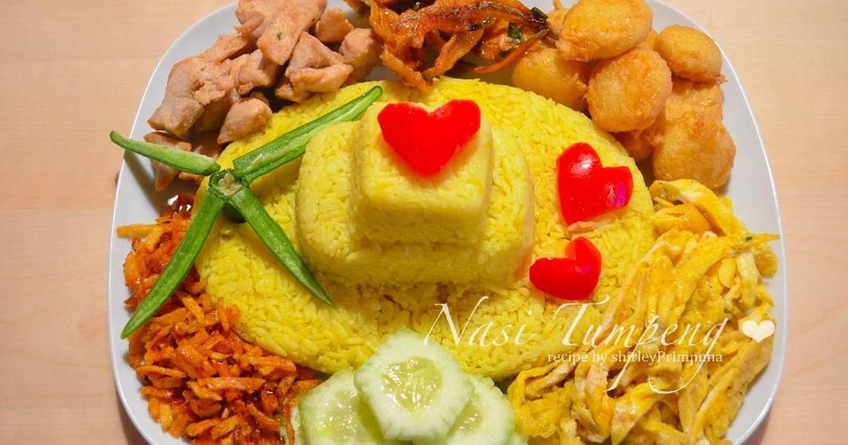 Resep Nasi Kuning liwet