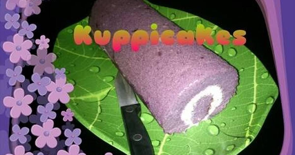 Resep Talas roll cake