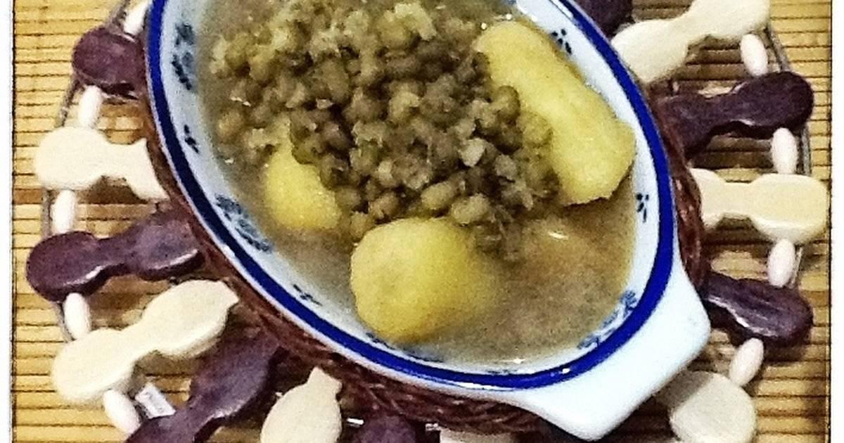 Resep kolak pisang burjo