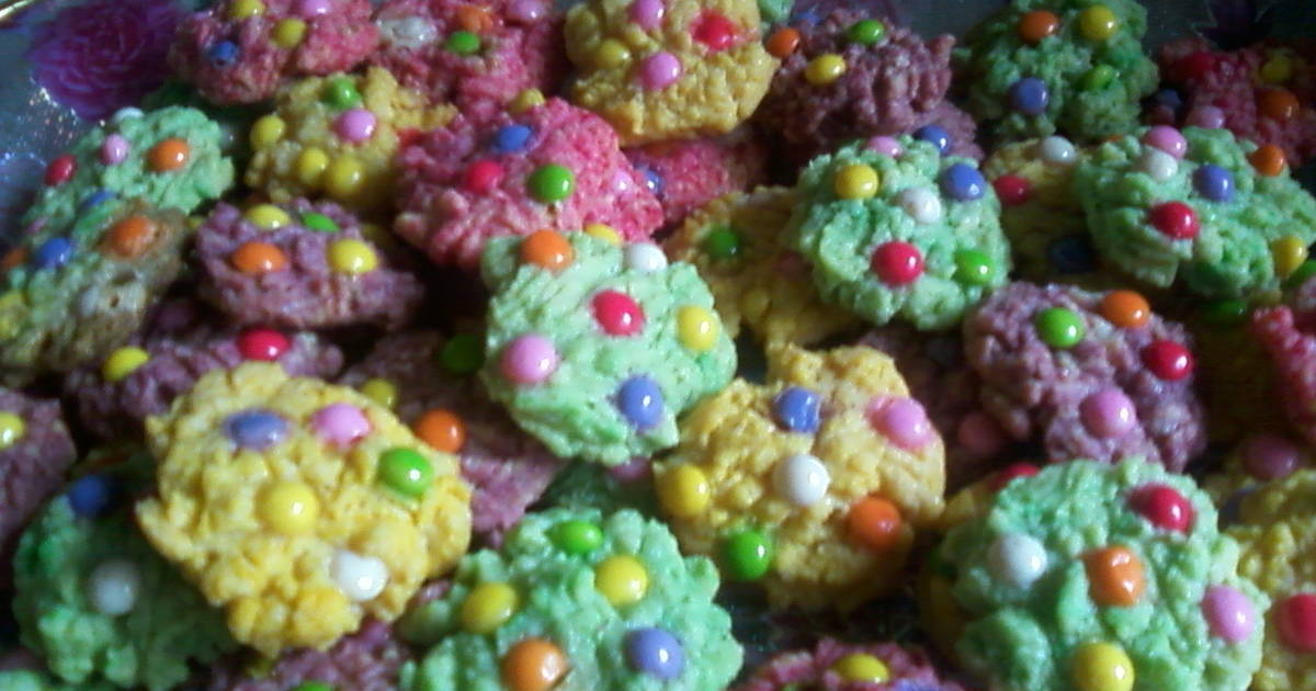 Resep Rainbow cookies