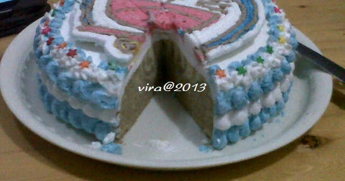 Resep Zebra Cake Kukus