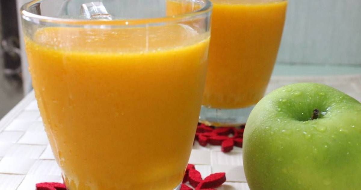 Resep Pumpkin Juice