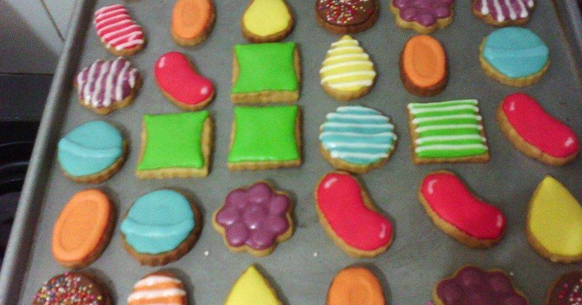 Resep Candy Crush Cookies