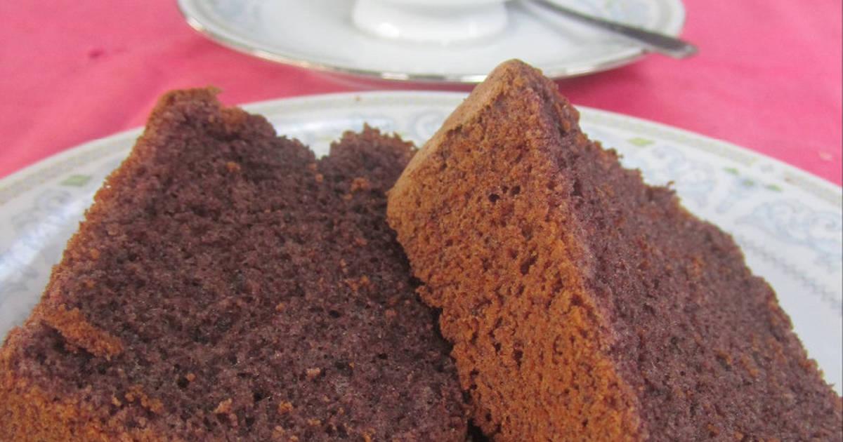 Resep Chiffon cake ketan hitam