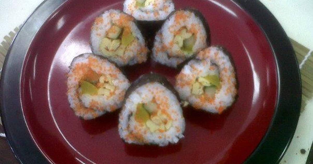 resep temaki sushi oleh hanitia hani   cookpad