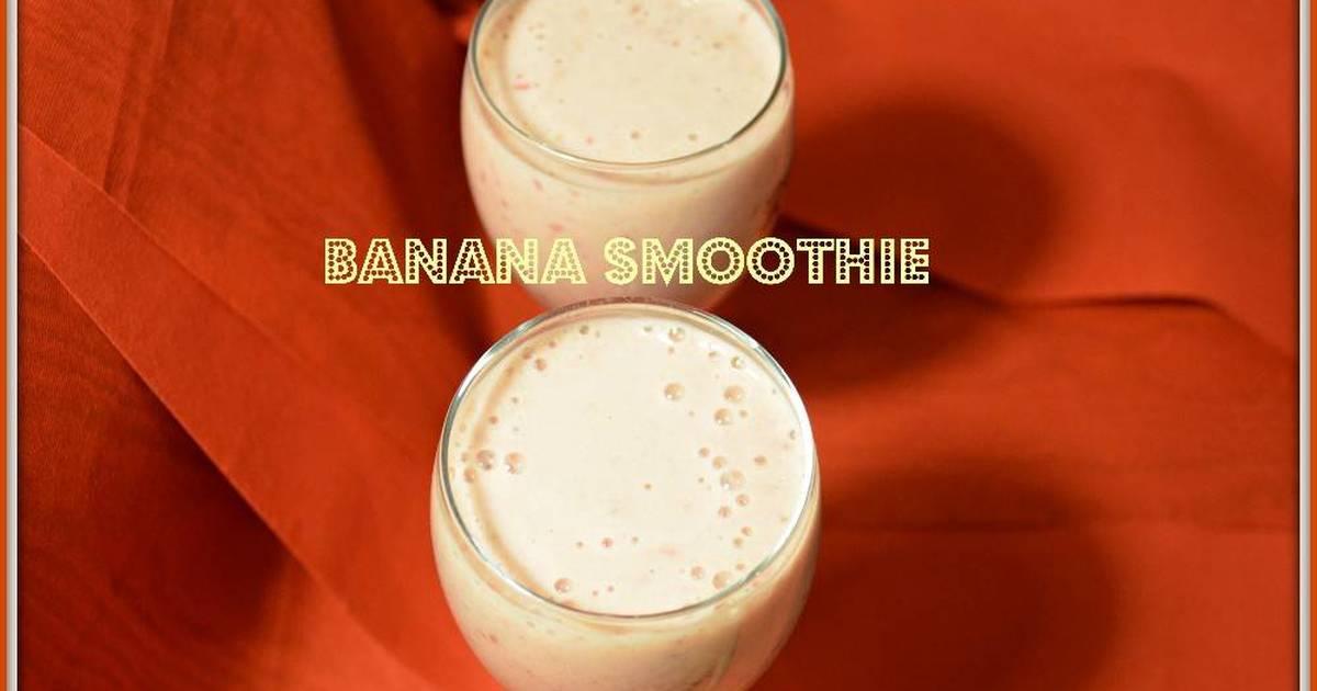Resep Banana Smoothie