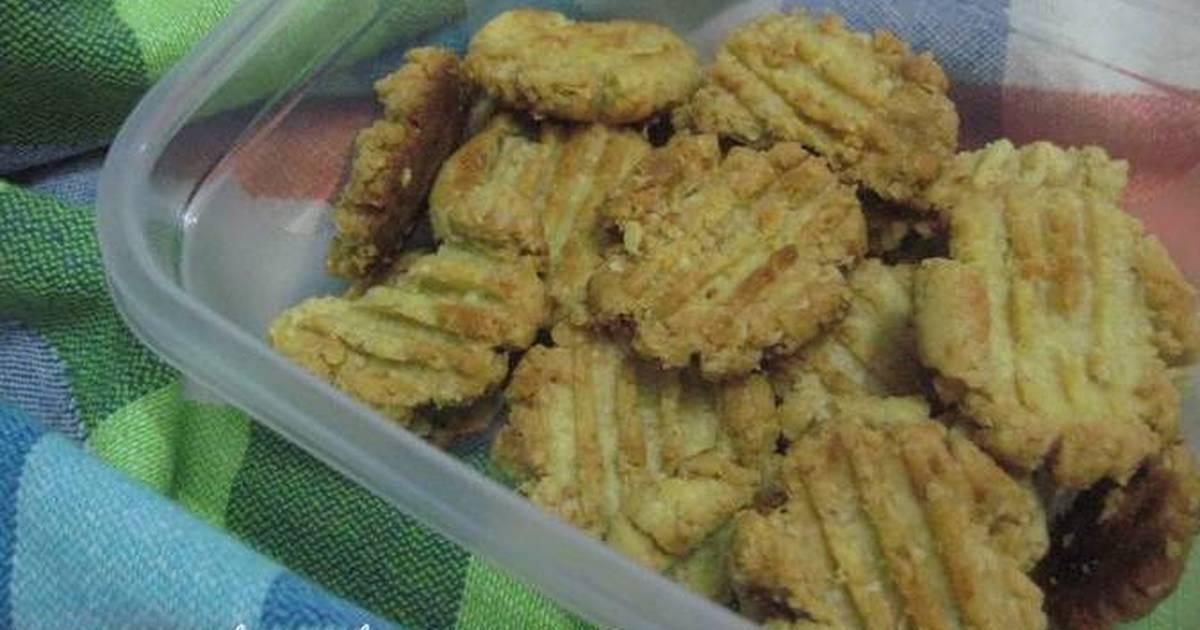 Resep baby oat cookies *cemilan bayi 8+*