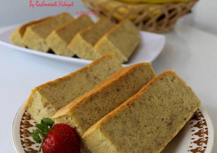 Resep Banana Cake Khas Jepang: Resep Banana Cake Oleh Rahma OveKitch