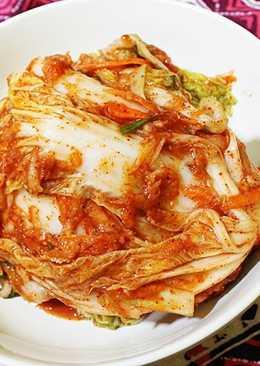 Mak-Kimchi ( Easy Kimchi )