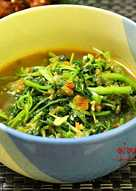 Watercress Stirfry ( Cenil / Selada Air )
