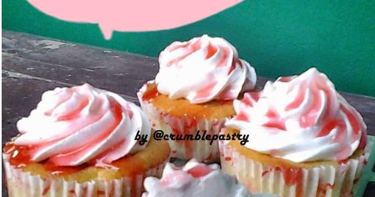 Resep Hokkaido Chiffon Cupcakes