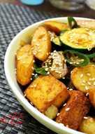 Eomuk Bokkeum ( Stir Fried Fish Cakes )