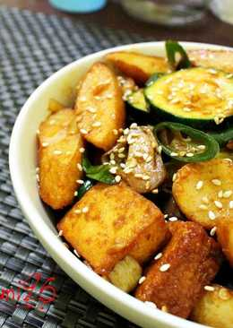Eomuk Bokkeum ( Stir Fried Fish Cakes )