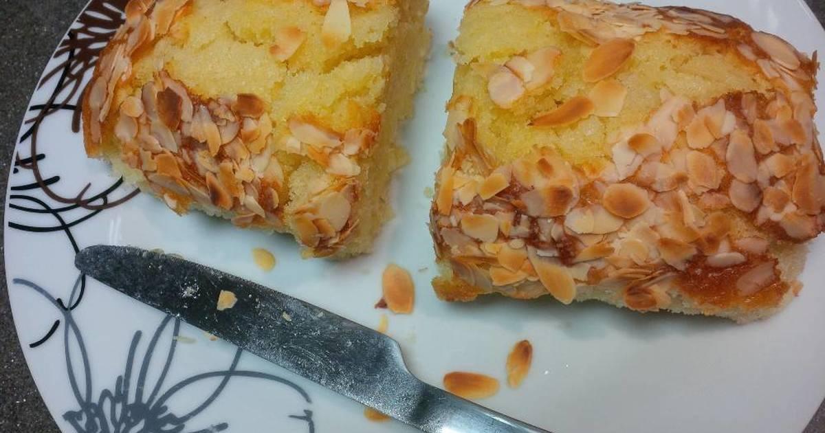 Resep Bolu Almond Eggless