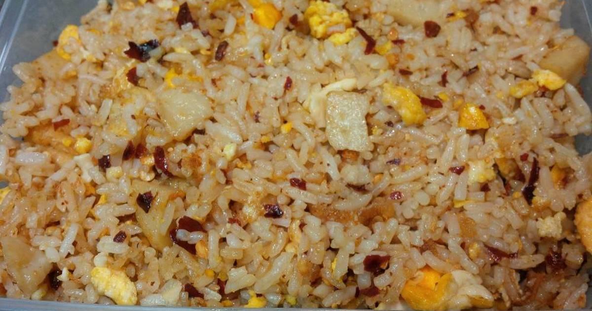 resep nasi goreng tahu bakso ayam oleh rini ramayanti