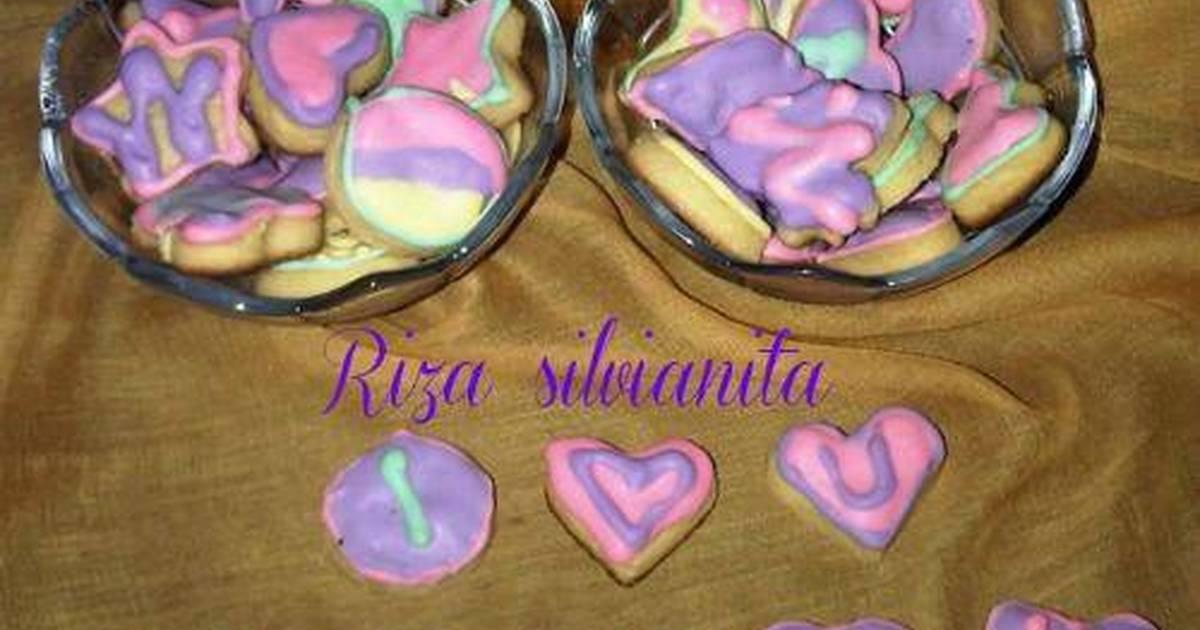 Resep cookies hias