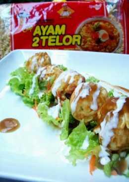 TAKOYAKI Ayam 2 Telor