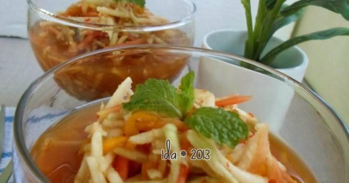 resep rujak gobet oleh farida yunus   cookpad