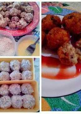 Tuna Macaroni Balls
