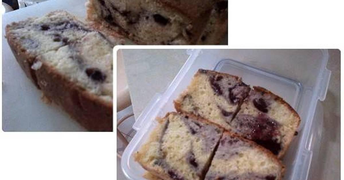 Resep Blueberry Marmer Cake