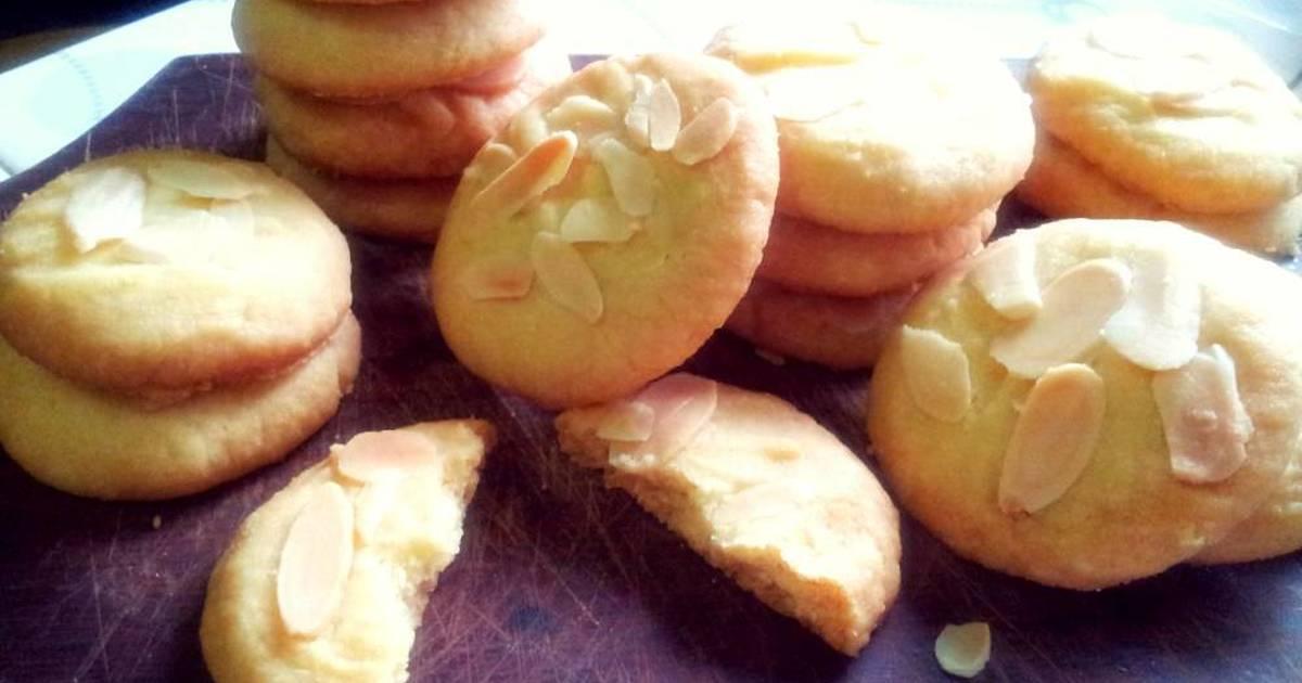 Resep Almond Crisps Cookies