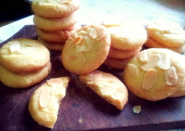 Almond Cookies Resep Almond Crisps Cookies