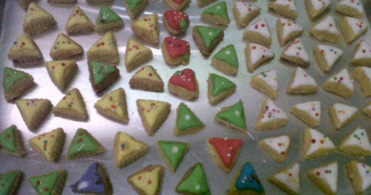 Resep Cookies with Icing